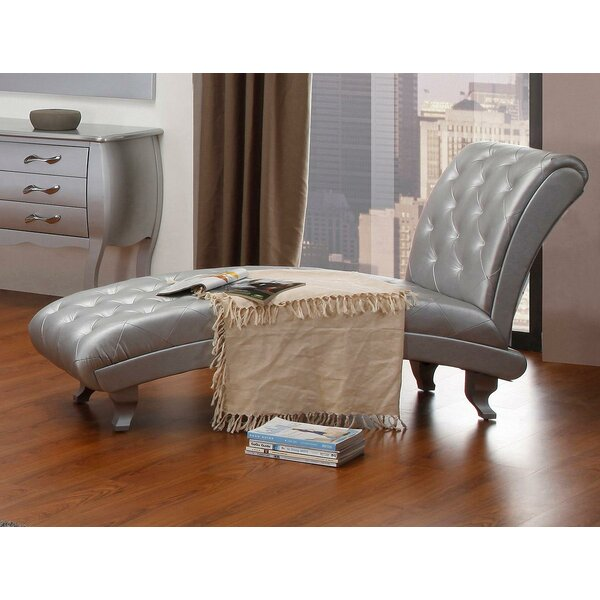 Gertz Chaise Lounge by House of Hampton