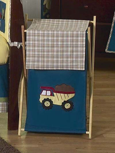 Construction Zone Laundry Hamper by Sweet Jojo Designs