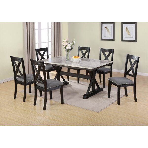 Leesa 7 Piece Dining Set by Darby Home Co
