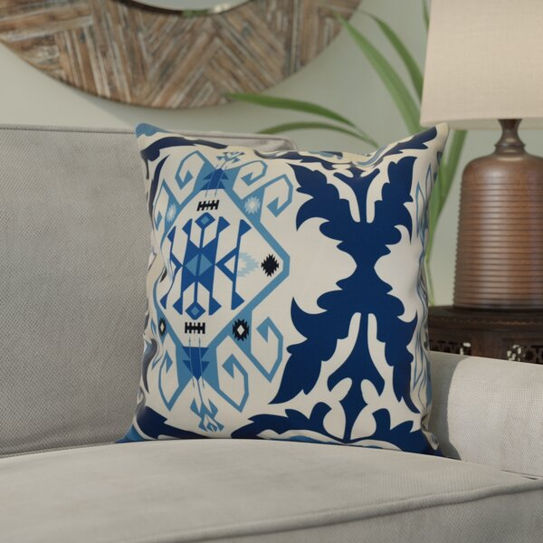 Soluri 6 Geometric Outdoor Throw Pillow by Bungalow Rose