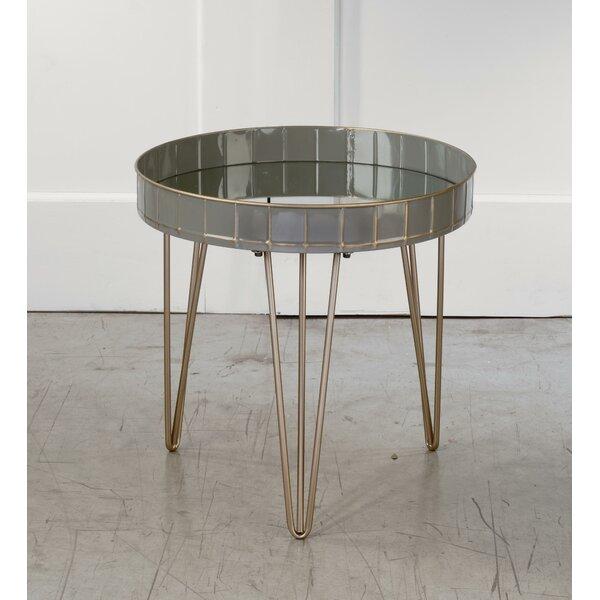 Bonaparte End Table by Brayden Studio