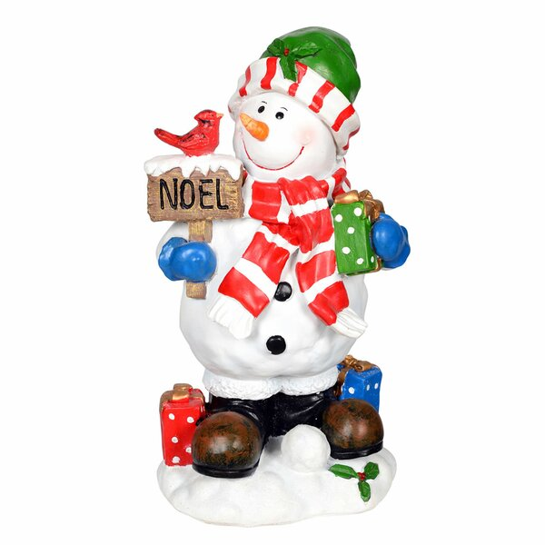 Winter Snowman Figurine by The Holiday Aisle