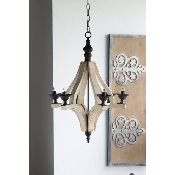 Amedeo 6-Light Candle Style Empire Chandelier by One Allium Way One Allium Way