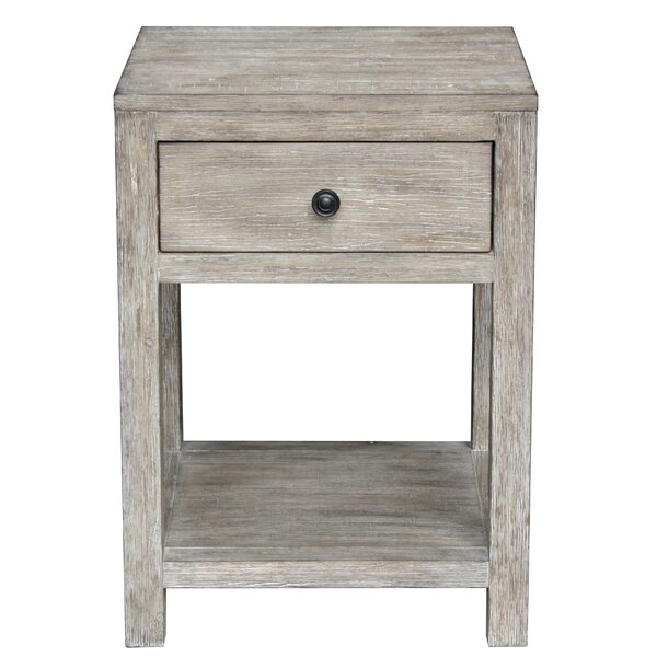 Cope Reclaimed Wood End Table by Bungalow Rose