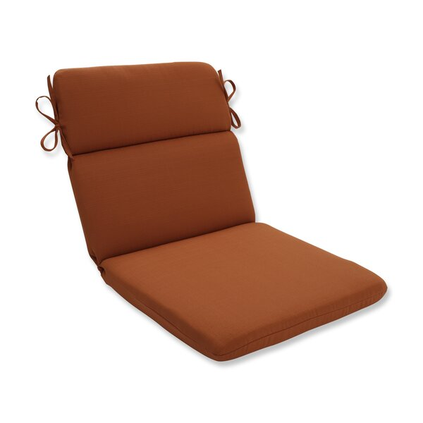 Cinnabar Indoor/Outdoor Chair Cushion by Pillow Perfect