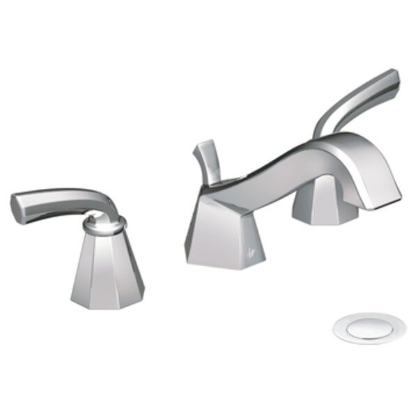 Felicity Widespread Bathroom Faucet by Moen
