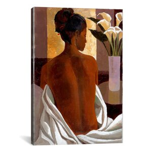 'Morning Light' by Keith Mallett Painting Print on Canvas by iCanvas