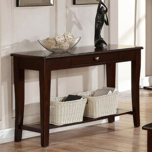 Garduno Wooden Console Table by Ebern Designs