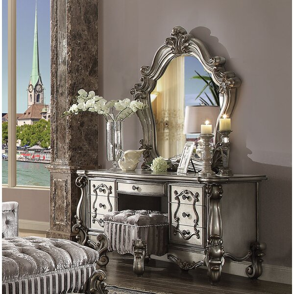 Welton 5 Drawer Dresser with Mirror by Astoria Grand
