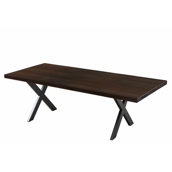 Morse Solid Wood Dining Table by Gracie Oaks