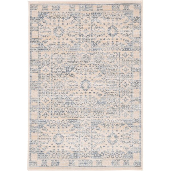 Plaisance Beige Area Rug by Charlton Home