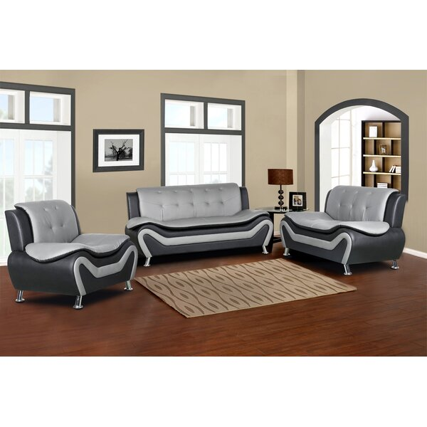 Varya 3 Piece Living Room Set By Orren Ellis