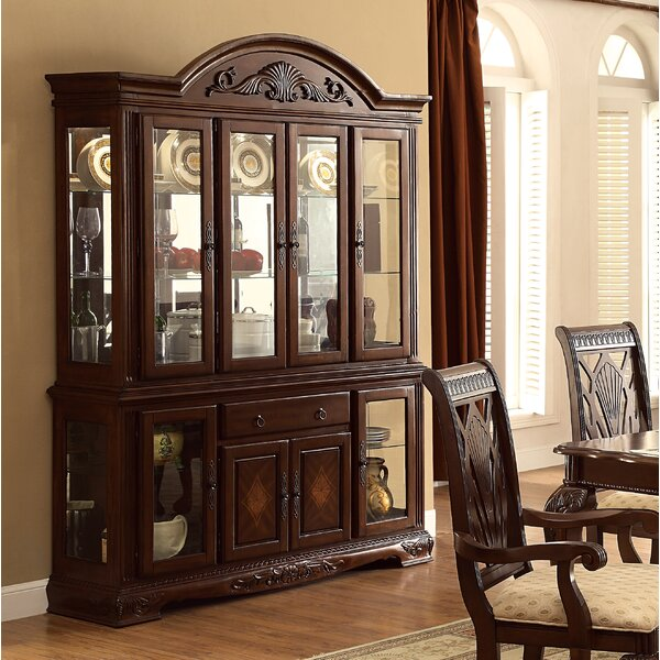 Alarcon China Cabinet by Darby Home Co Darby Home Co