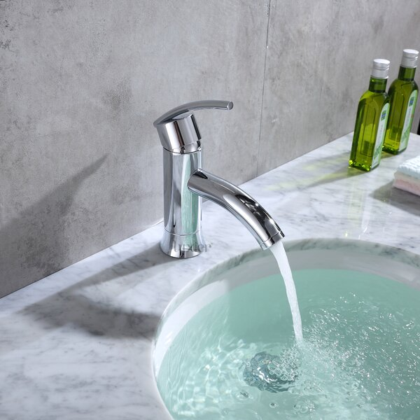 Single Hole Standard Bathroom Faucet