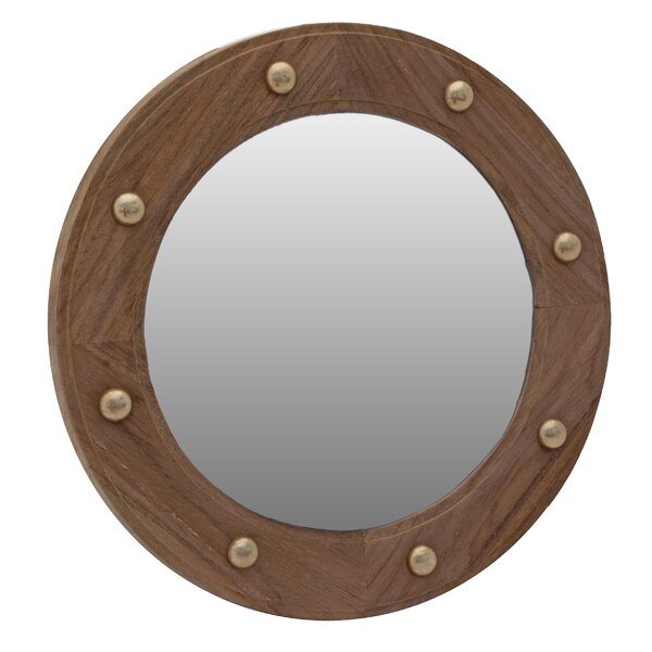 Porthole Accent Mirror by SeaTeak