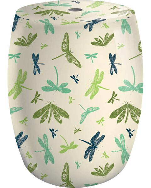 Dragonfly Garden Stool by Evergreen Flag & Garden