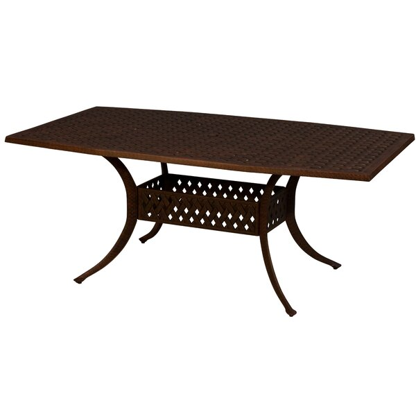 Aldrich Metal Dining Table by Darby Home Co