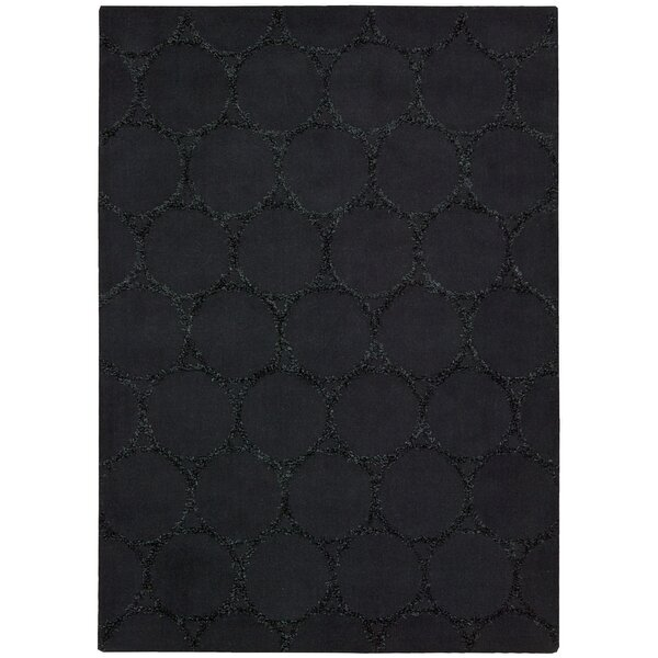 Rochon Black Area Rug by Orren Ellis