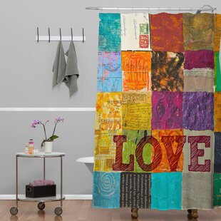 Check Prices Elizabeth St Hilaire Nelson Love Shower Curtain By Deny Designs
