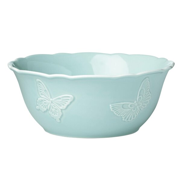 Meadow® Butterfly Carved Serving Bowl by Lenox