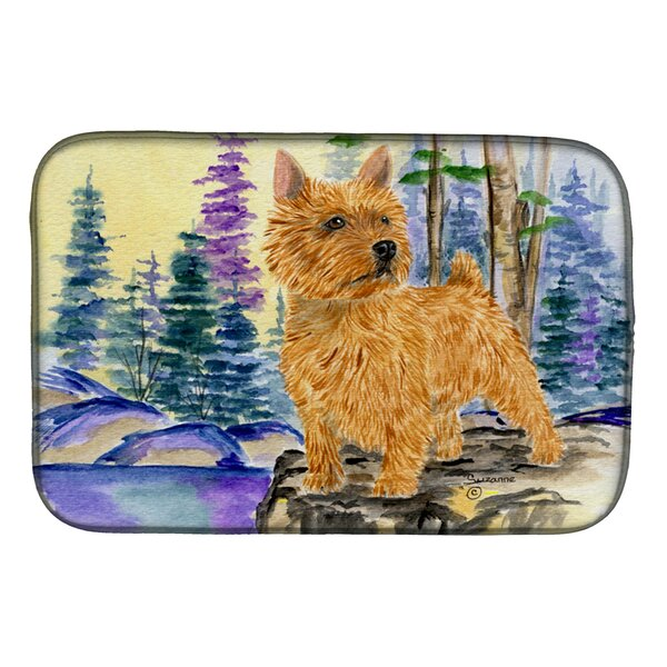 Norwich Terrier Dish Drying Mat by Caroline's Treasures