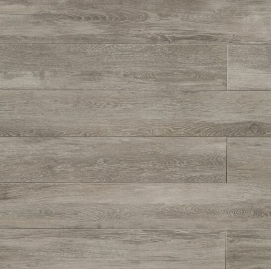 Othello 7.75 x 47.13 Porcelain Wood Field Tile in Dark Gray by Bedrosians