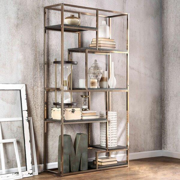 Ellinger Geometric Bookcase By Mercer41
