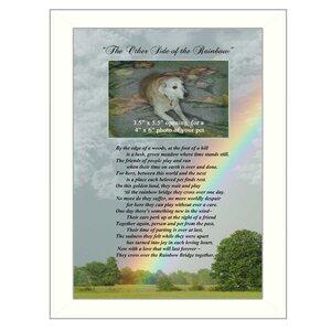 'Rainbow Bridge' Framed Graphic Art Print by Trendy Decor 4U