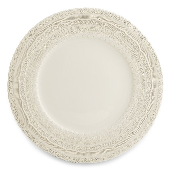 Finezza 13 Charger Plate by Arte Italica