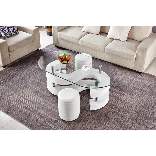 Shadarev Abstract Coffee Table By Orren Ellis