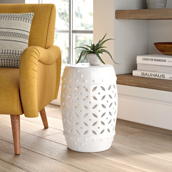 Dunsmore Ceramic Garden Stool by Mistana
