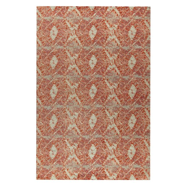 Lakeland Hand-Woven Red Area Rug by M.A. Trading