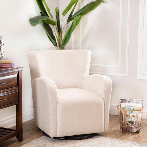 Seigle Swivel Armchair by Brayden Studio
