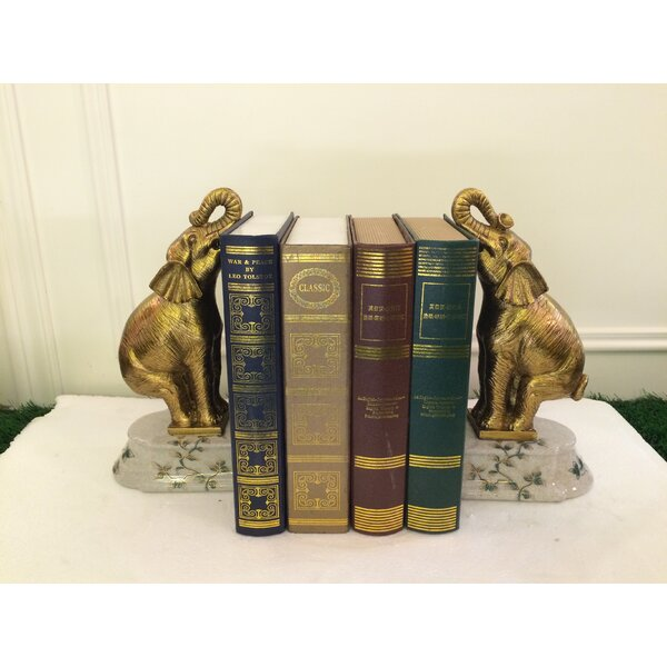 Luxurious  Bookends (Set of 2) by Westmen Lights
