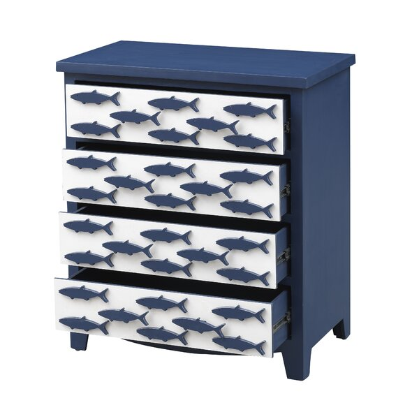 4 Drawer Accent Chest