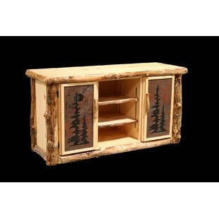 Amias Sideboard with Tiled Doors by Millwood Pines