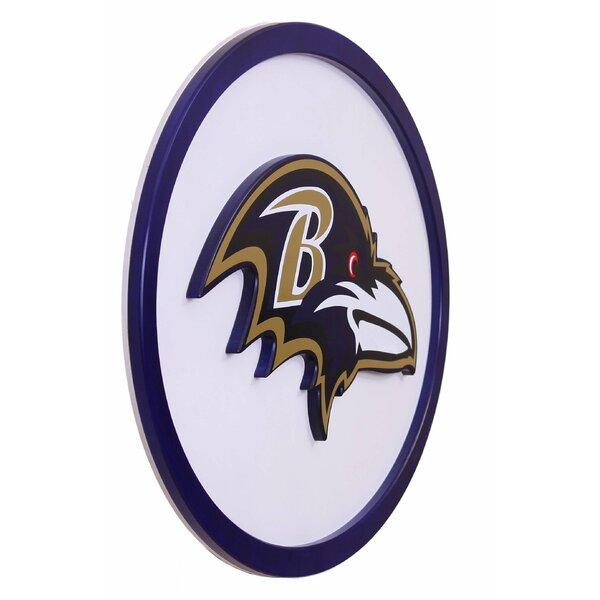 NFL Logo Graphic Art Plaque by Fan Creations