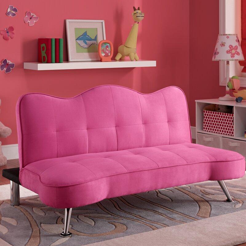 Dhp Rose Junior Convertible Sofa Amp Reviews Wayfair