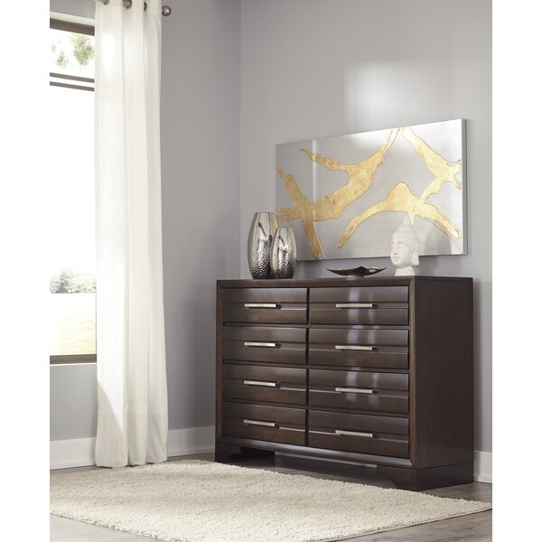 Setzer 8 Drawer Double Dresser by Ivy Bronx