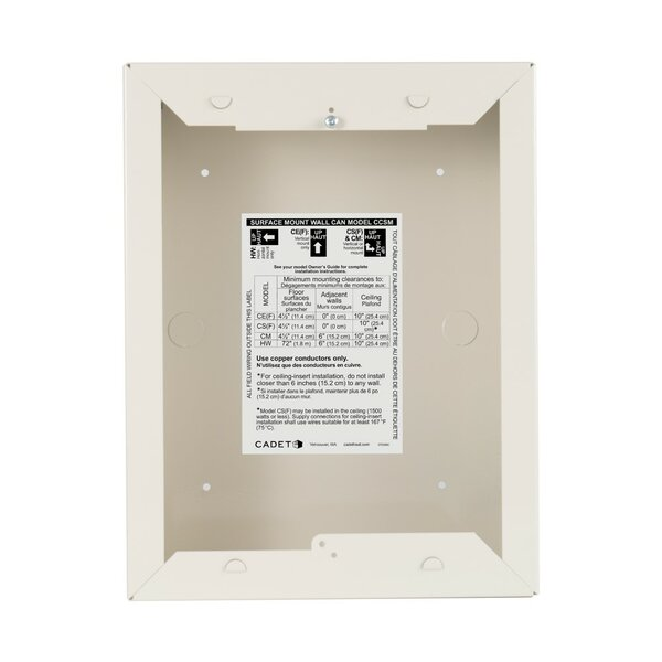 Com-Pak Surface Mount Wall Can By Cadet