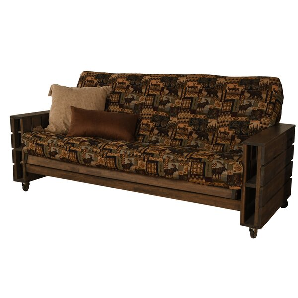 Campos Full Loose Back Futon And Mattress By Loon Peak