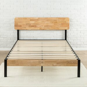 ursula metalwood platform bed