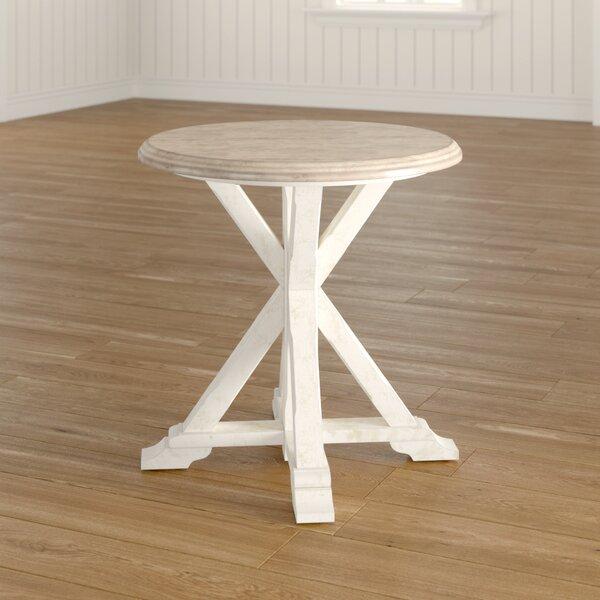 Bartlett Cross Legs End Table By Birch Lane™ Heritage