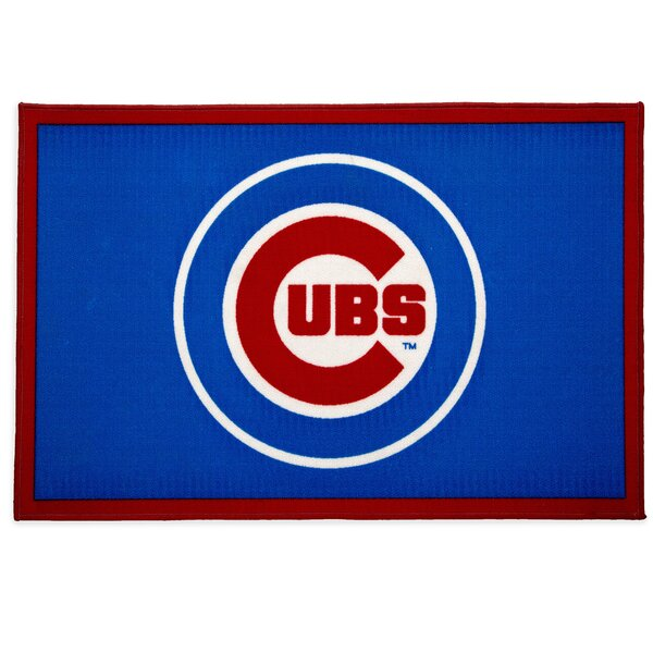 MLB Chicago Cubs Blue/Red Area Rug by Delta Children