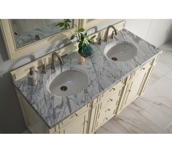 Lambrecht 60 Double Bathroom Vanity by Alcott Hill