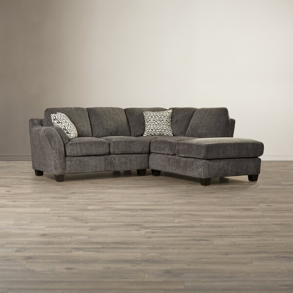 Amazing Selection Warner Right Hand Facing Robins Sectional by Laurel Foundry Modern Farmhouse by Laurel Foundry Modern Farmhouse