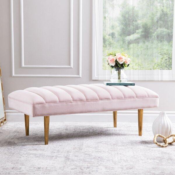 Dedrick Upholstered Bench By Everly Quinn