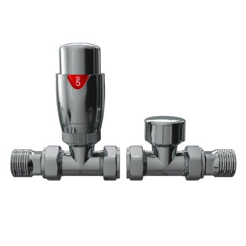 Heizkörperventil Korey Belfry Bathroom Ausführung: Chrom | Baumarkt > Heizung und Klima | Belfry Bathroom