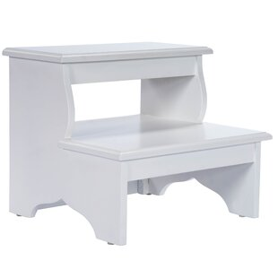 Stupendous Copley 2 Step Wood Step Stool With 375 Lb Load Capacity Caraccident5 Cool Chair Designs And Ideas Caraccident5Info