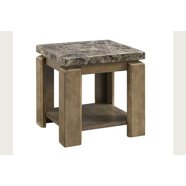 Vaughn End Table By Fleur De Lis Living